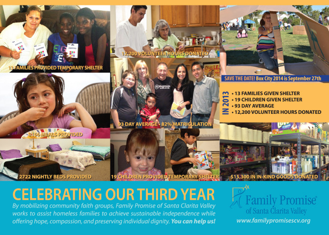 Family Promise SCV 2013 Review Photos Collage Photo