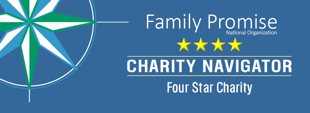 <strong>Top Rated</strong> Family Promise National Organization Rated a 4-Star Charity Navigator